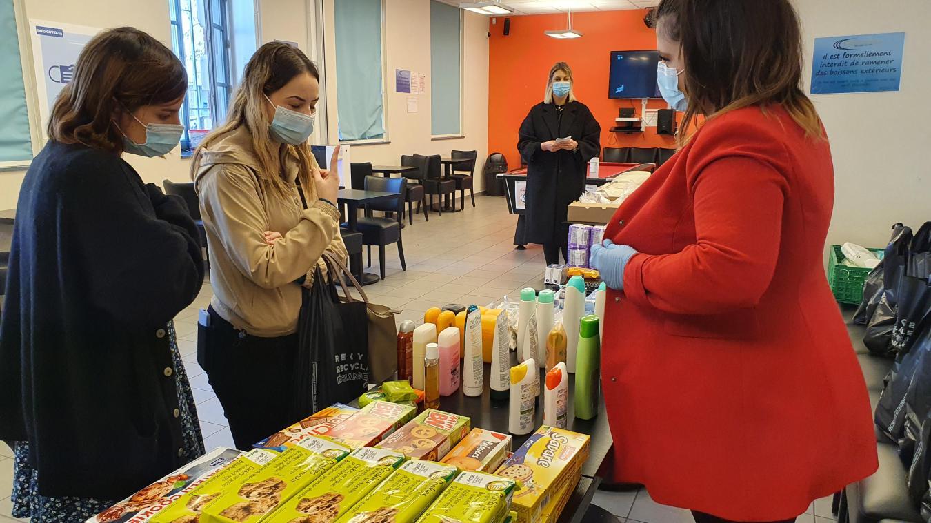 Nouvelle distribution alimentaire à destination des étudiants du Boulonnais