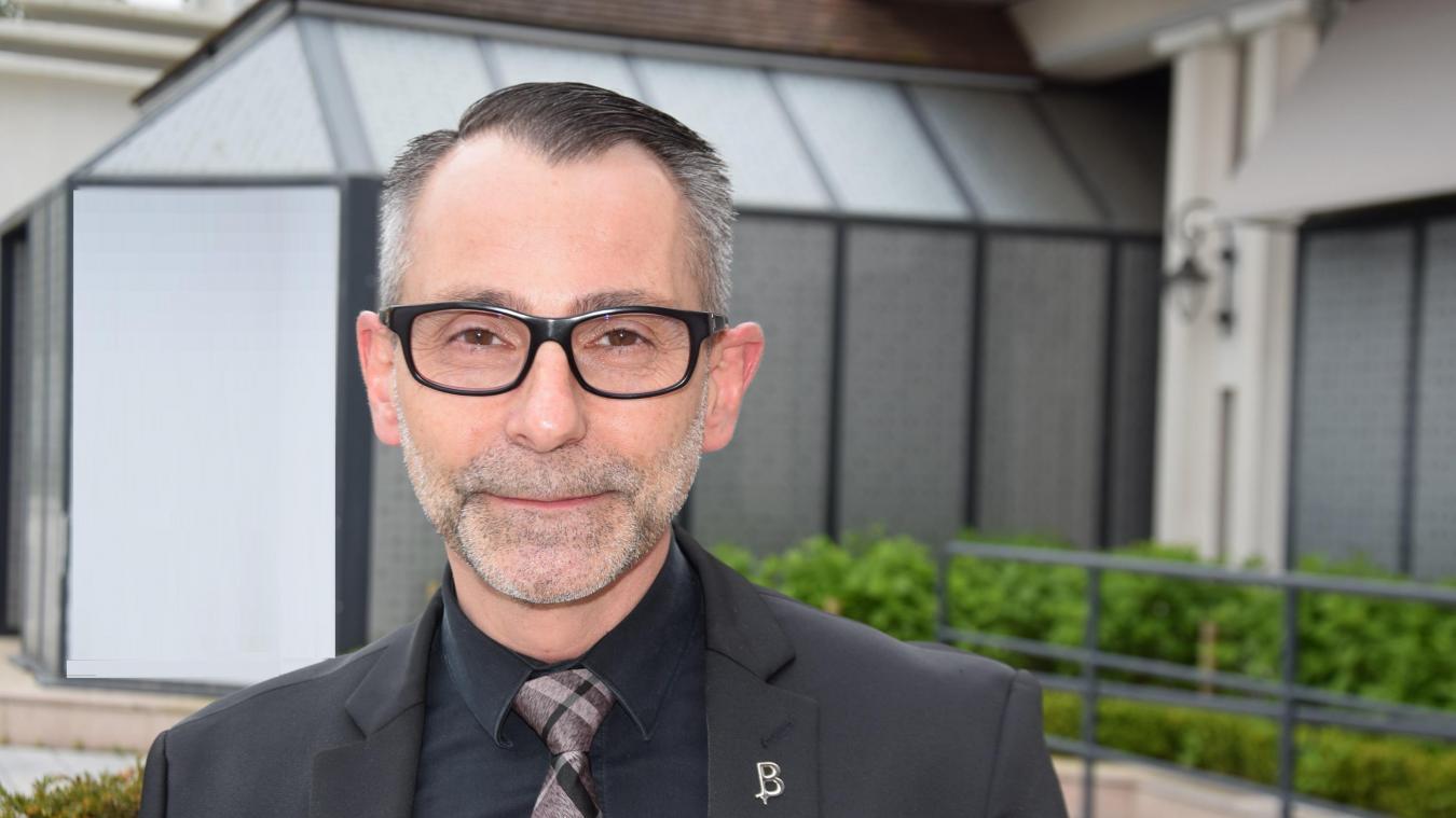 Stéphane Garcia a briefé le personnel sur les conditions sanitaires.