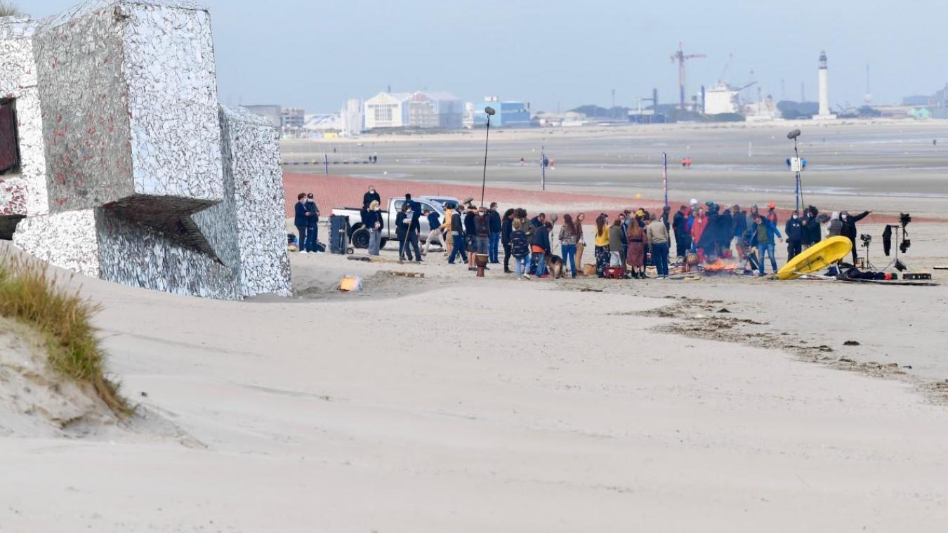 Quelques jours de tournage ont eu lieu à Dunkerque, dont plusieurs heures sur la plage. Jean-Louis Burnod
