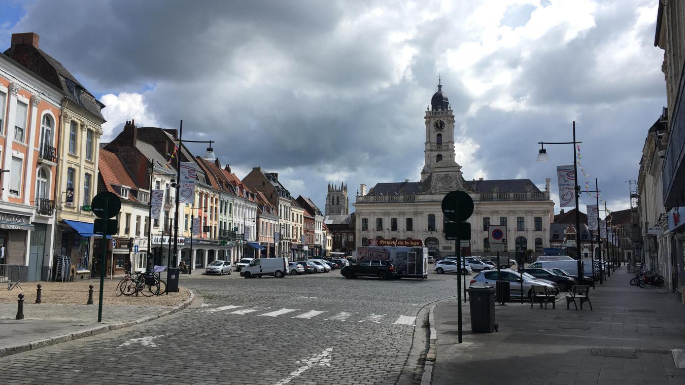 Pour participer, le projet doit concerner les quartiers prioritaires de la ville, comme le centre d'Aire-sur-la-Lys.