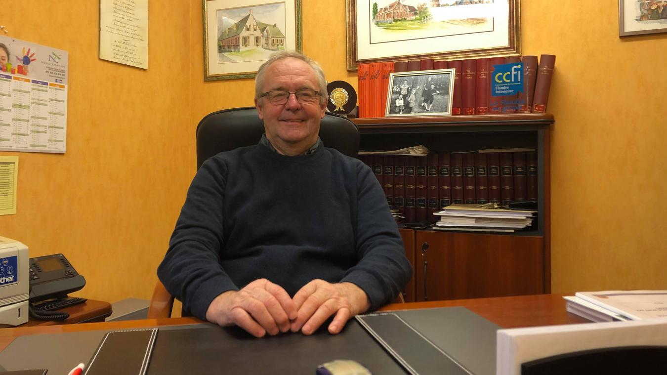 Élu maire au printemps 2020, Bernard Beun a envoyé sa démission au préfet.