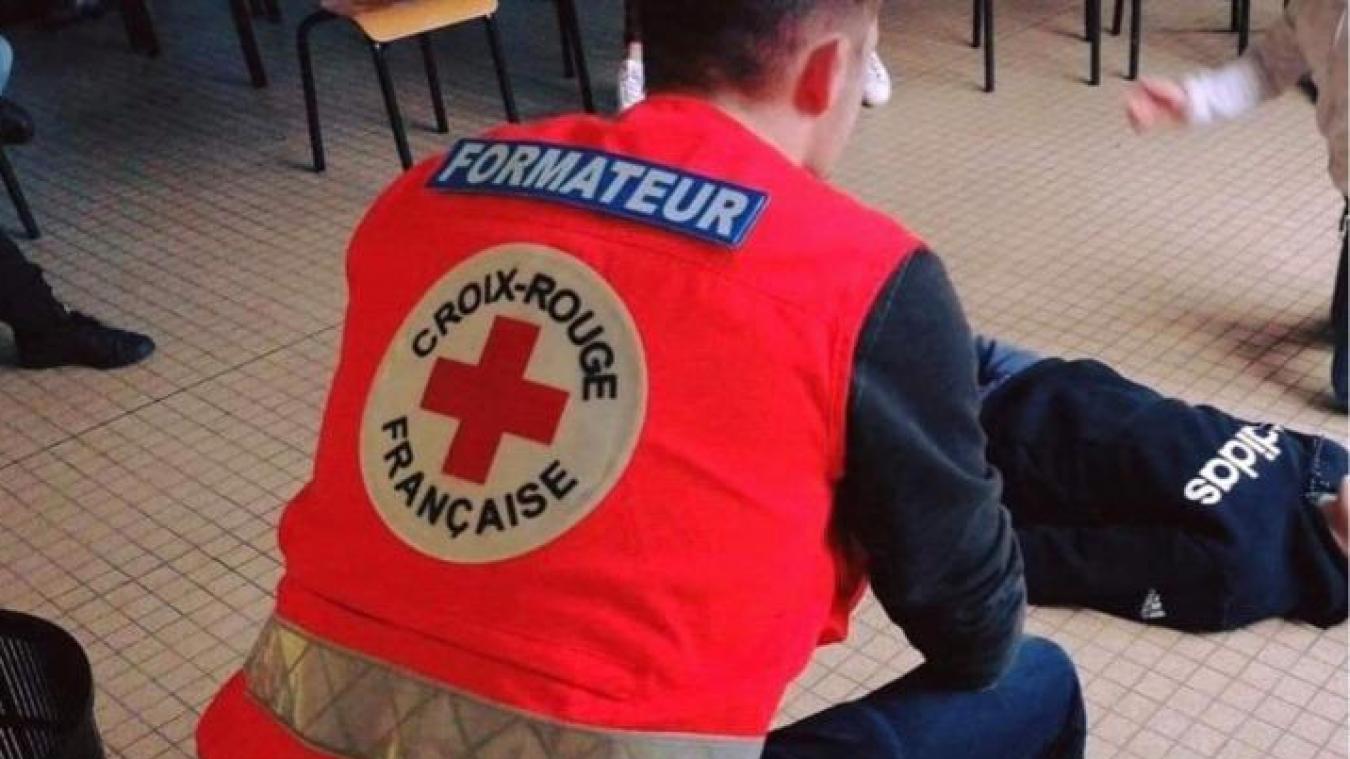 Du 22 au 30 mai, la Croix rouge récolte des dons dans les rues de Dunkerque et par SMS.