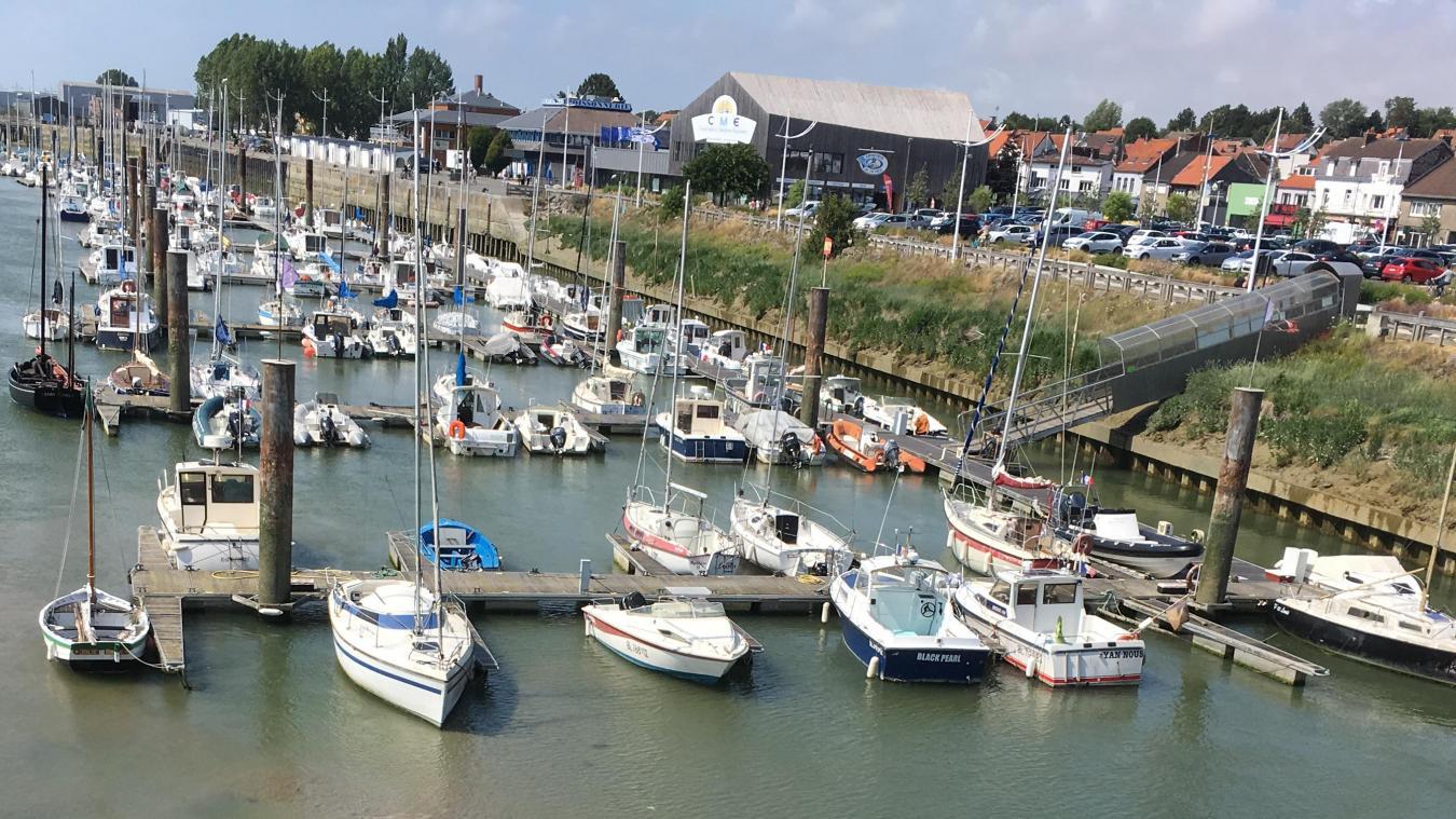 Près de 200 bateaux sont amarrés au port de plaisance d'Étaples.