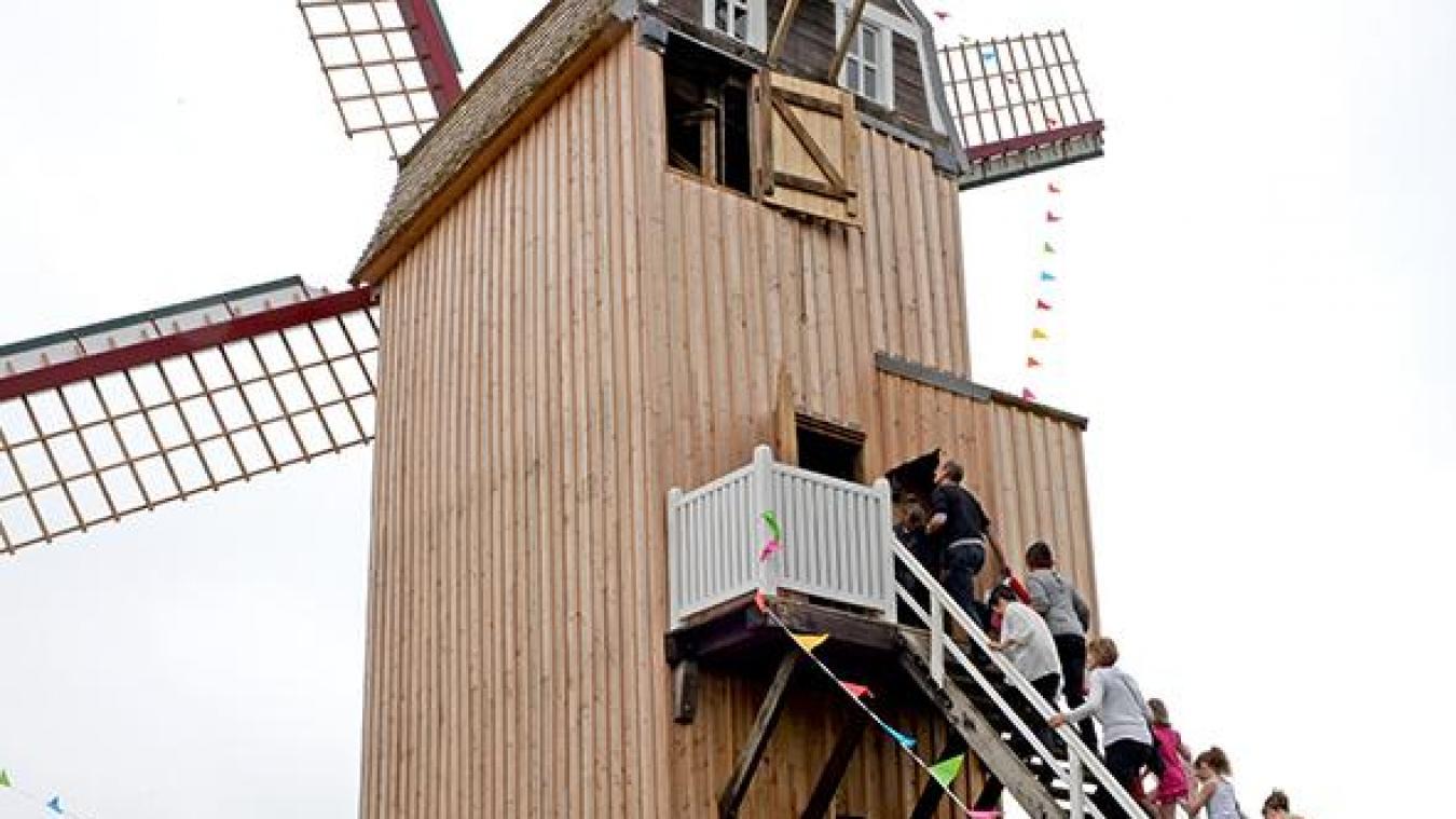 Venez découvrir les secrets du moulin de Boeschèpe dimanche 23 mai.