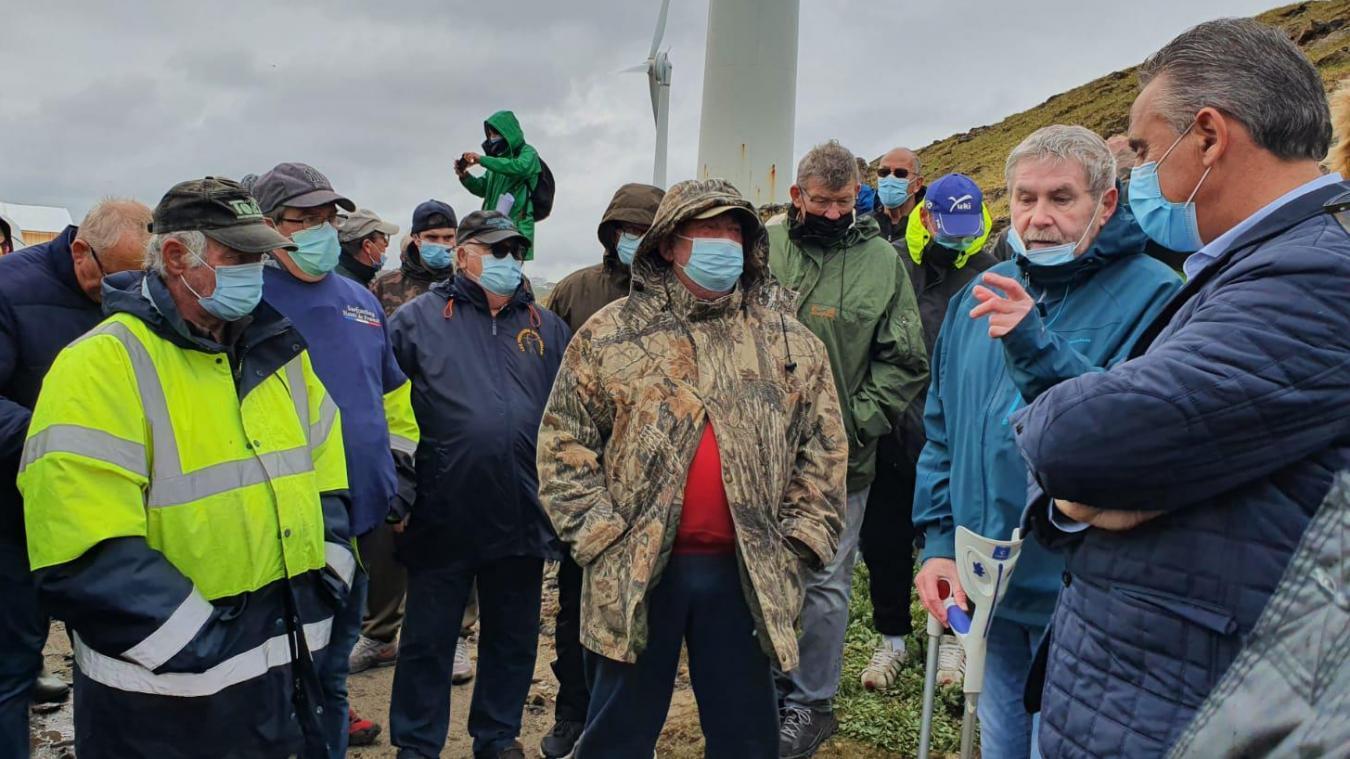 Le Portel : les pêcheurs crient leur colère sur la digue Carnot