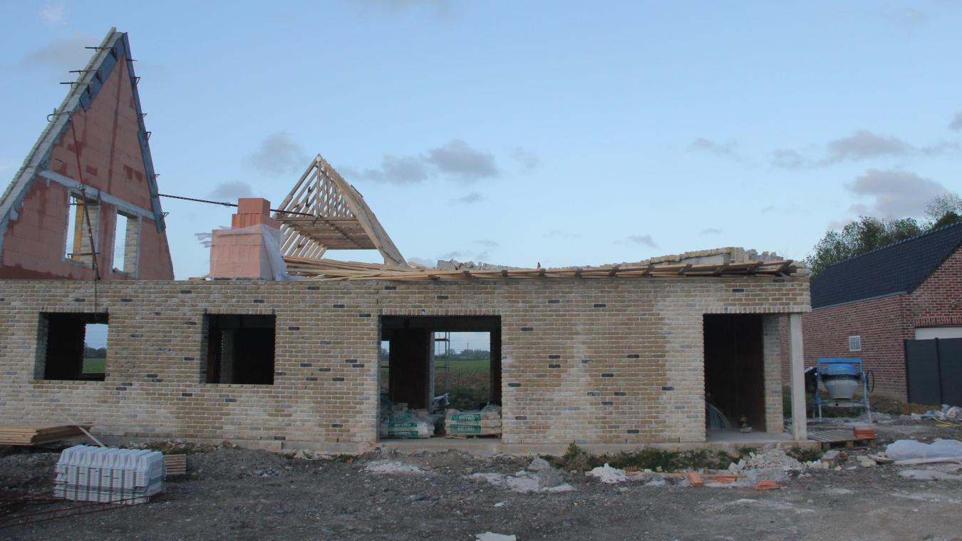 Les dégâts structurels sont importants.