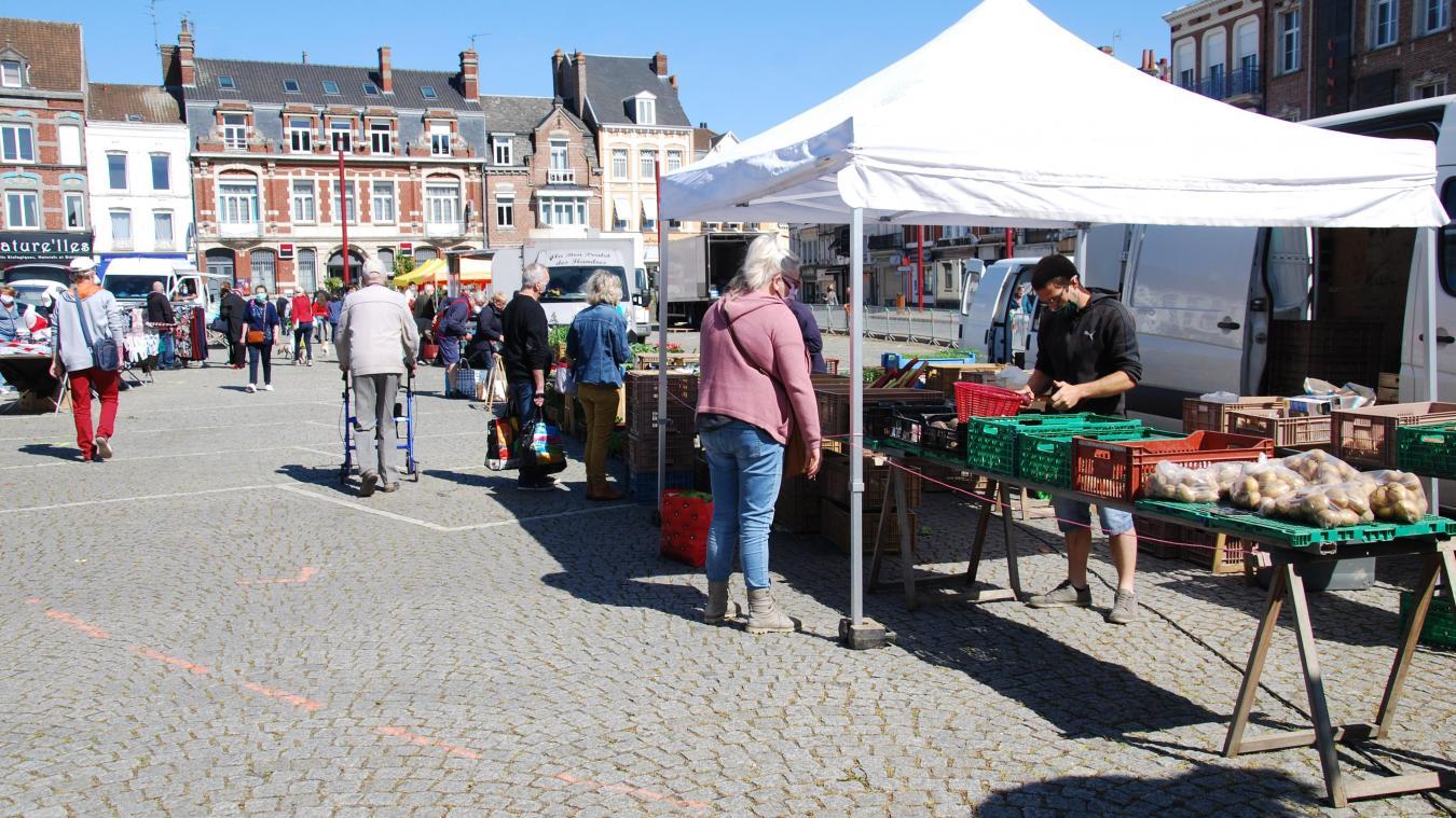 Les marchés du dimanche et du lundi à Hazebrouck accueilleront un stand dédié à la réduction des déchets. (Photo d'illustration)