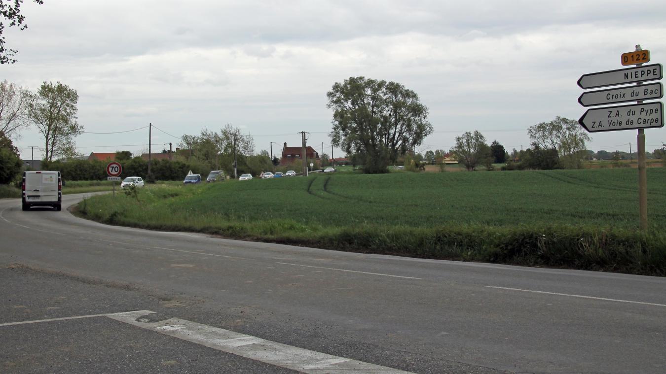 Quatre accidents ont eu lieu sur la route depuis le début de l'année.