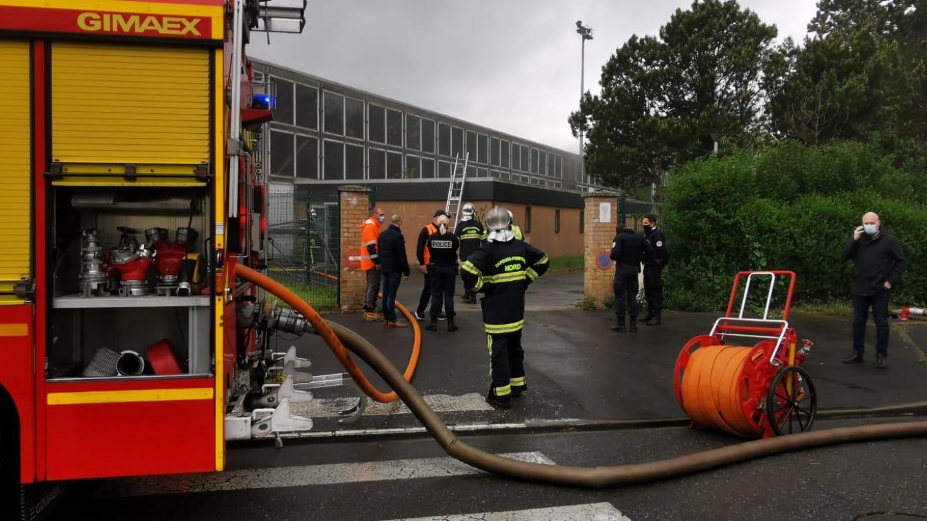 Cappelle-la-Grande : un feu se déclare dans l'ancienne piscine
