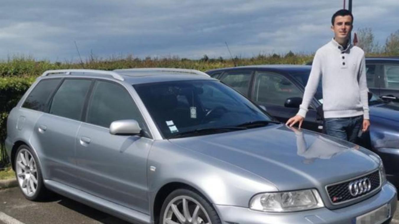 L'Audi RS4 de Maxence Masson avait été empruntée par Jérôme Joniuk lors d'une virée à Calais Nord durant l'hiver 2020.
