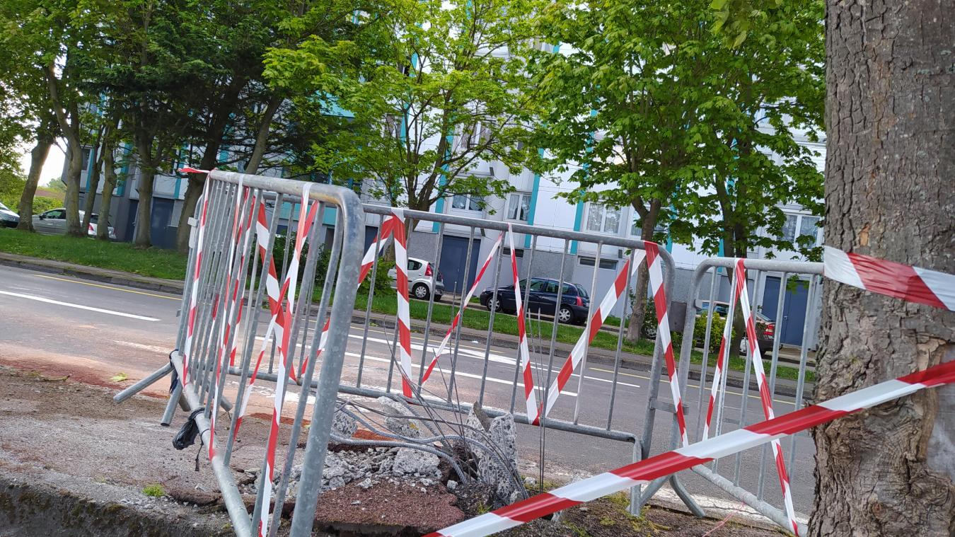 Les faits se sont produits sur l'avenue Louis-Blériot. Le pylone électrique a été sectionné.