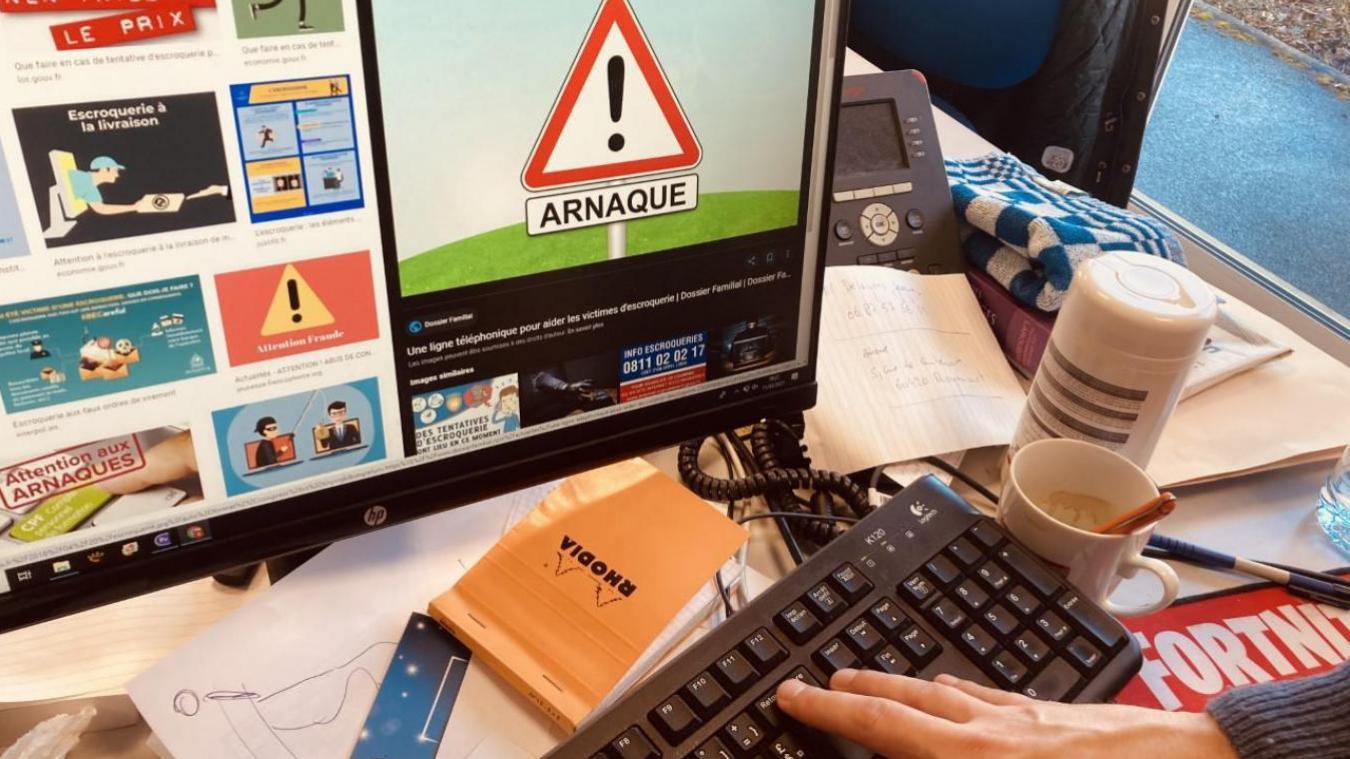 Les arnaques sur internet se multiplient et inquiètent de plus en plus les gendarmes de la compagnie d'Ecuires.
