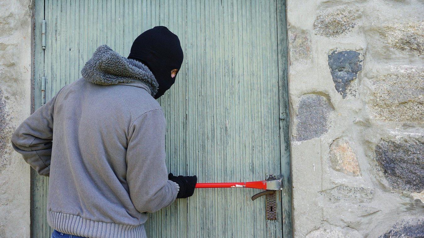 Le voleur s'est introduit en pleine nuit (photo illustration)