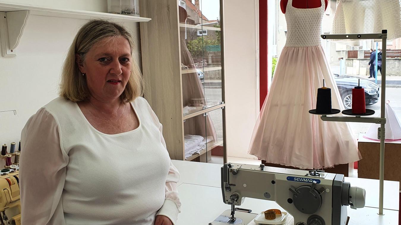 L'atelier de Nina ouvrira ses portes à la place de l'ancien magasin de tissus, La Rouennerie.