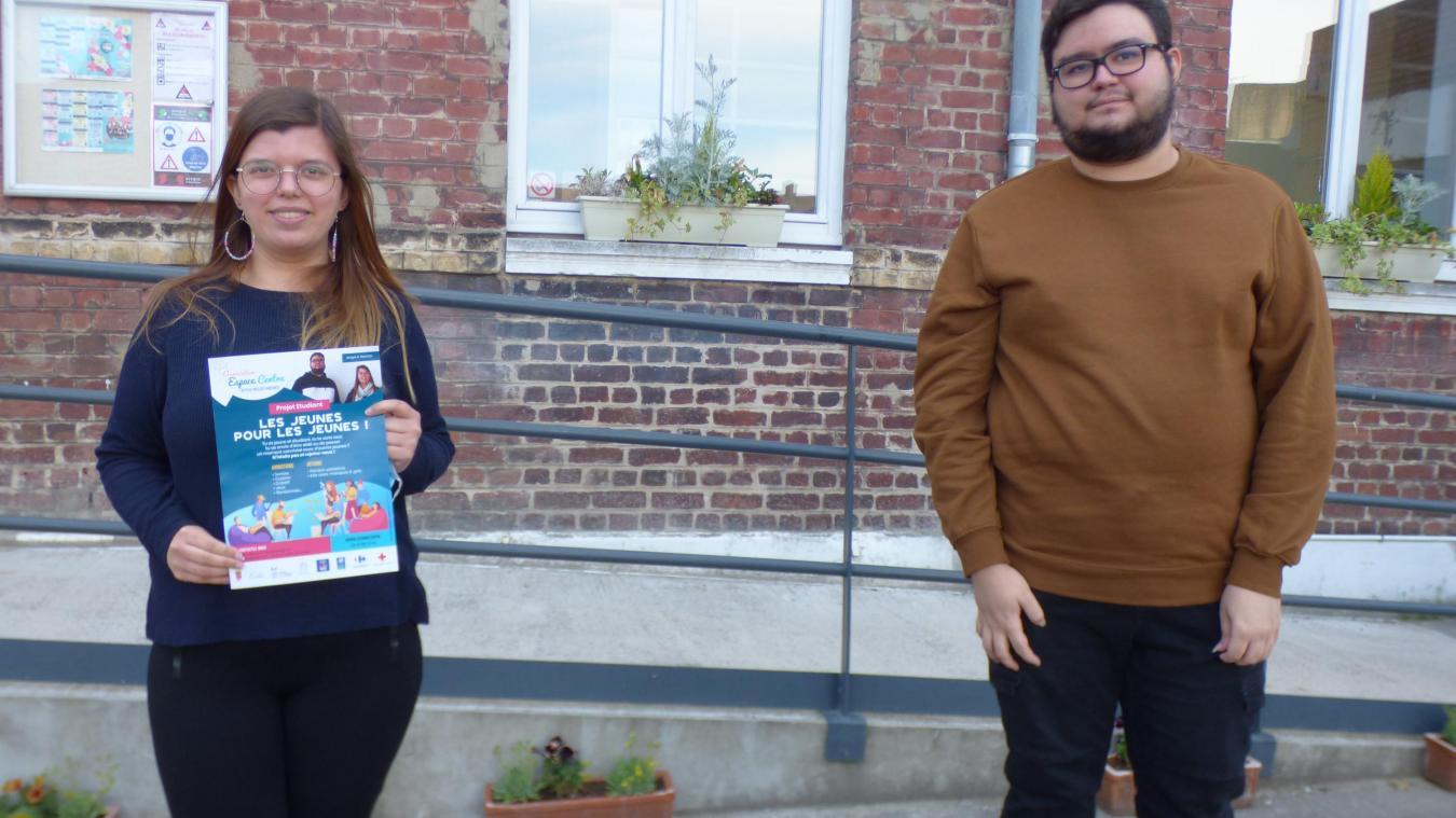 Angel Mouchon et Rachel Schattean ont lancé une initiative pour sortir les jeunes de leur isolement.