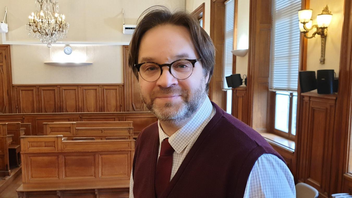 Nicolas Houx préside le tribunal arrageois depuis 2017.