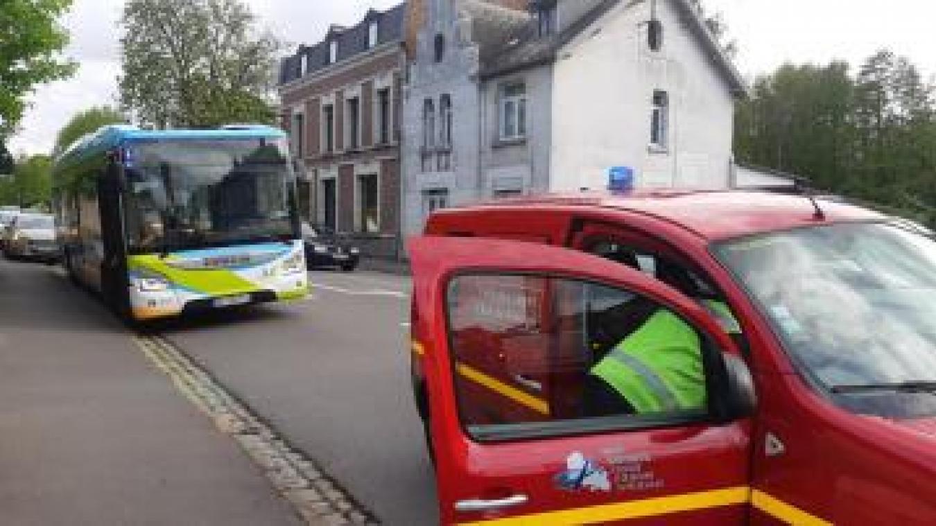Sainte-Catherine: accident entre un bus Artis et une voiture