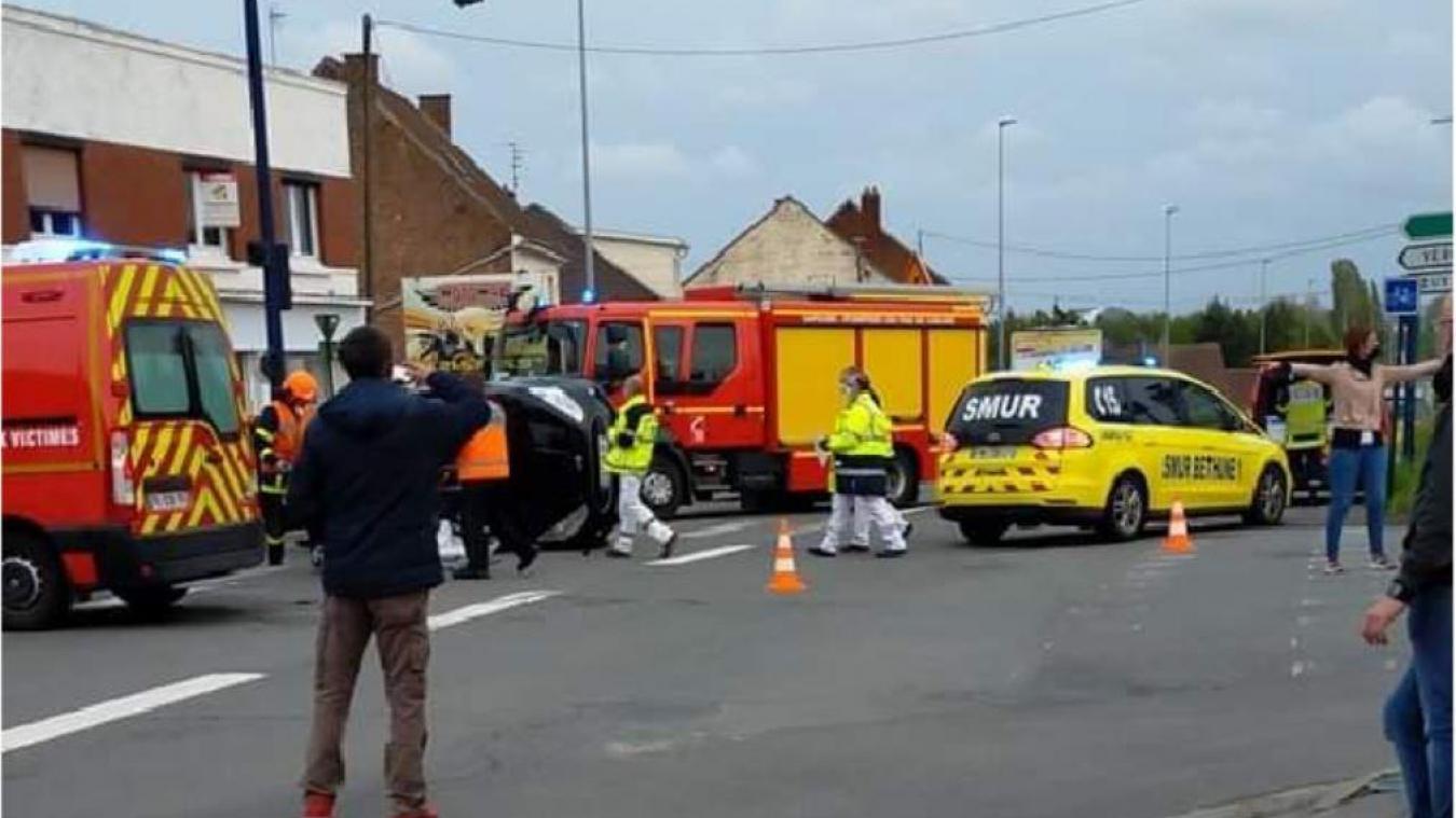 L'accident a eu lieu vers 20h30.