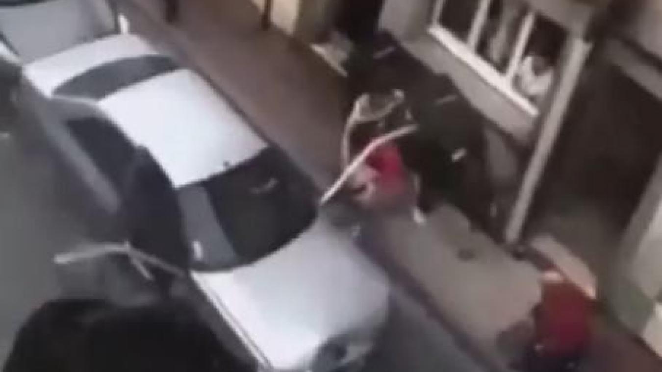 Des vidéos de l'accident circulent sur les réseaux sociaux.