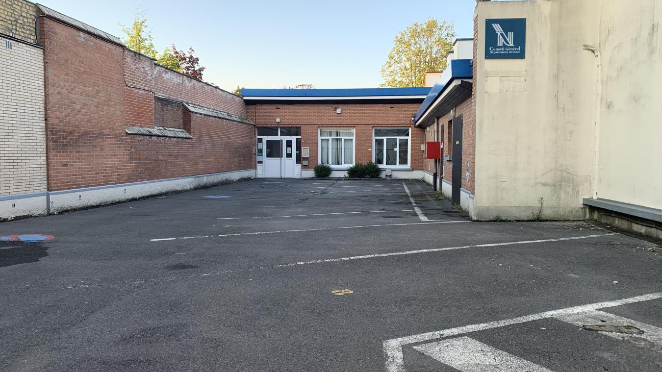 C'est dans ce bâtiment, propriété du département du Nord, que devrait s'installer la future maison de santé portée par la Ville.