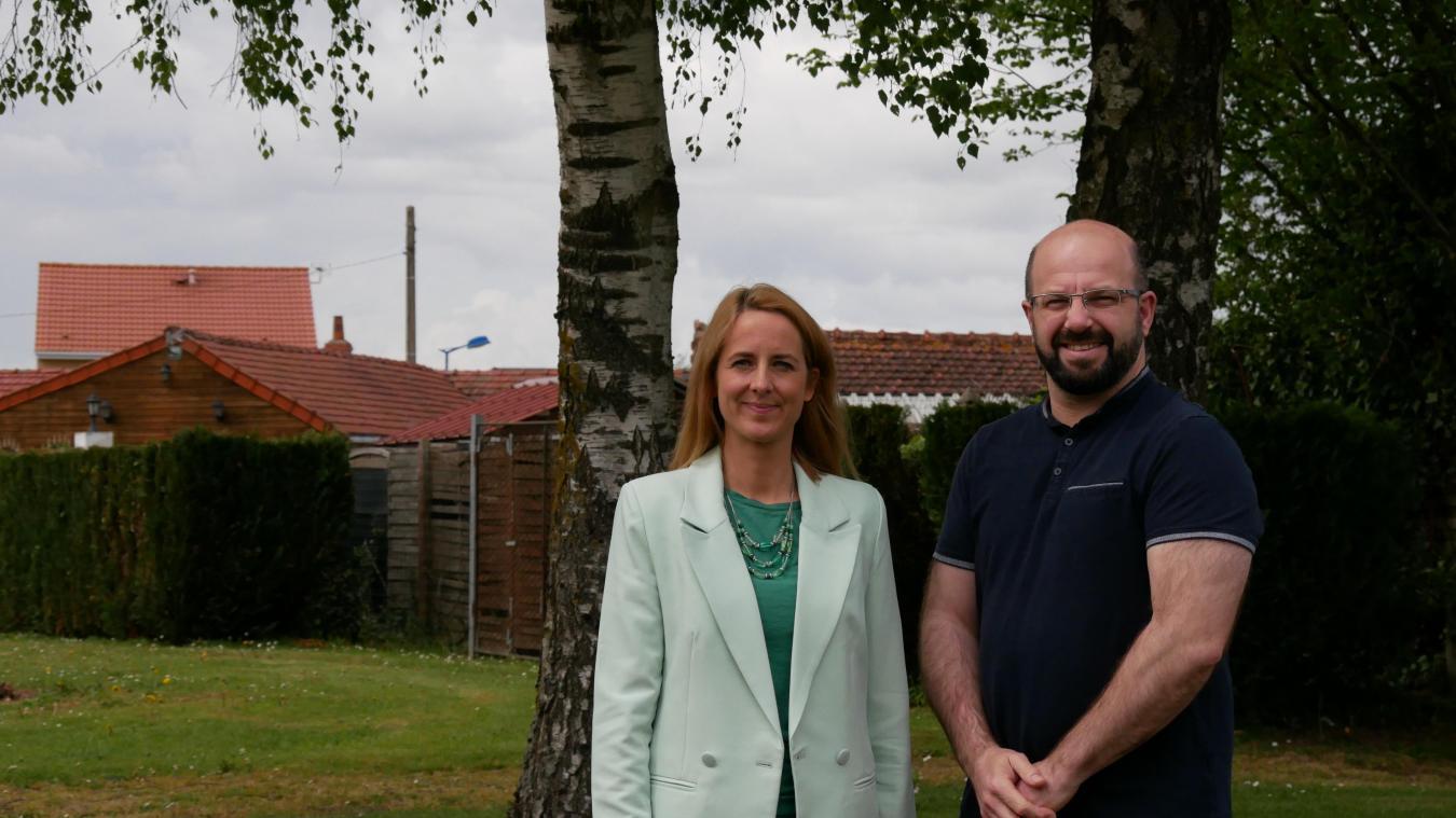 Florence Hostalier et Thierry Pruvost (divers droite) veulent mettre en avant l'expérience du terrain.