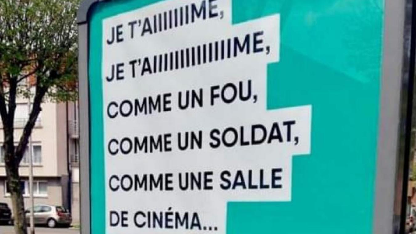 Des affiches déployées sur le territoire, notamment à Bourbourg, pour la réouverture des lieux cuturels