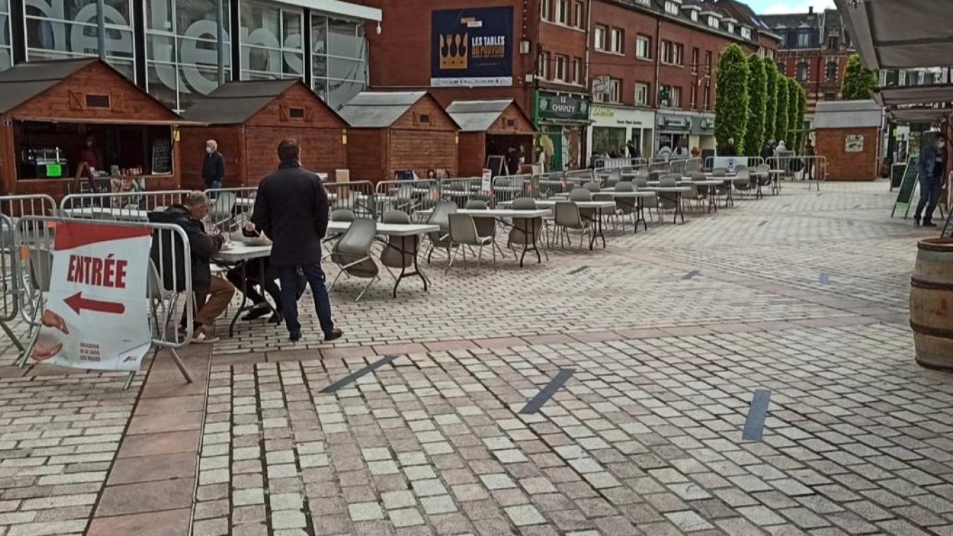 Lens : un deuxième souffle pour le village des restaurateurs grâce aux terrasses ?