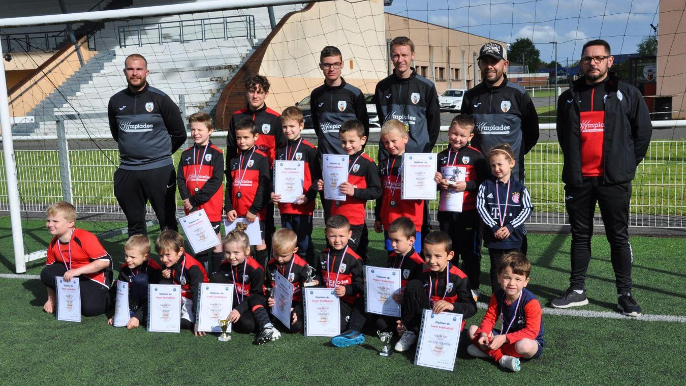 Les débutants du FC Lillers.
