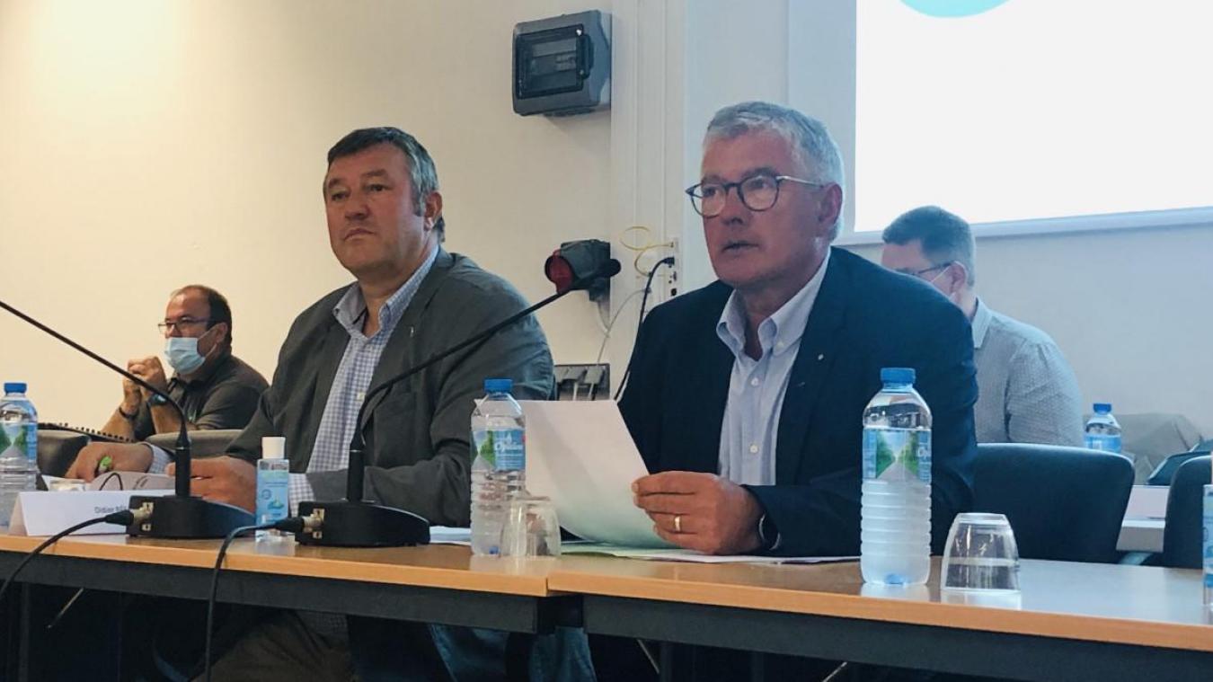 Bruno Cousein, président de la Communauté d'agglomération des 2 baies en Montreuillois (CA2BM) a dénoncé l'attitude de certains par rapport aux travaux menés en baie d'Authie.