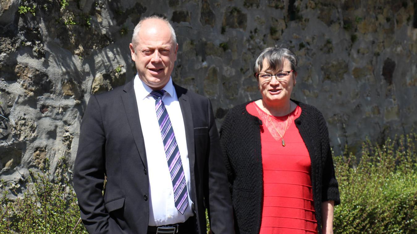 Jérôme Jossien (Génération.s) et Patricia Duvieubourg (PCF)