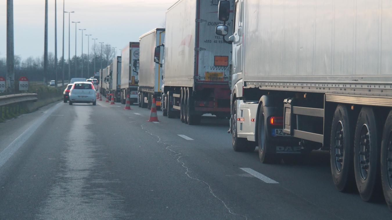 La circulation sur l'A16 est perturbée (Photo d'illustration).
