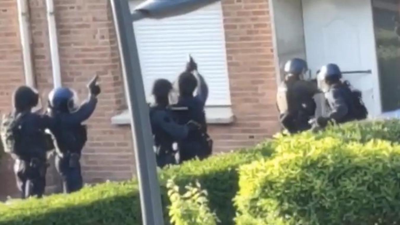 L'assaut a été donné mardi 27 mai, tôt dans la matinée, rue du Banc-vert, à Dunkerque.