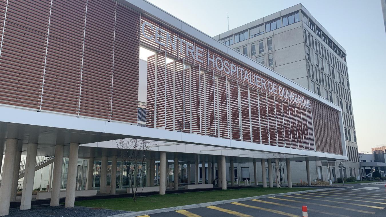 L'hôpital de Dunkerque accueille 12 patients ce jeudi 27 mai, soit trois de plus qu'il y a deux jours.