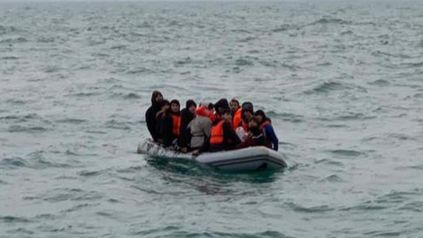 Les naufragés ont été récupérés au large de Dunkerque, au niveau du canal des Dunes. ©illustration