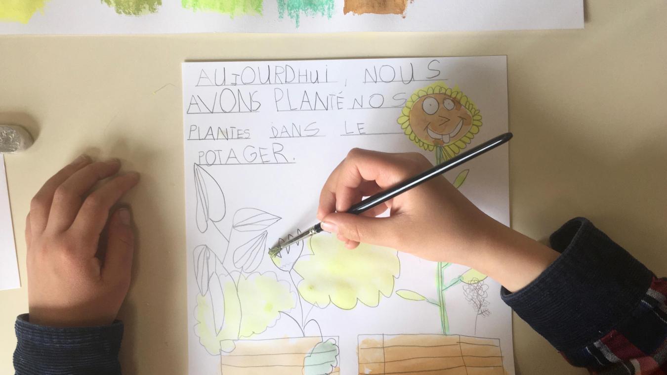 Hazebrouck : le projet artistique de l'école Massiet-du-Biest touche à sa fin