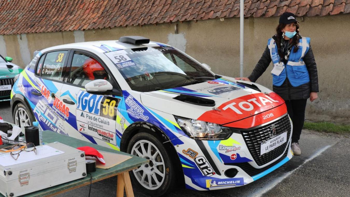 Très beau spectacle sur les routes de l'arrière pays depuis ce vendredi matin à l'occasion de la 61e édition du Rallye du Touquet, qui se déroule rappelons-le à huis clos.