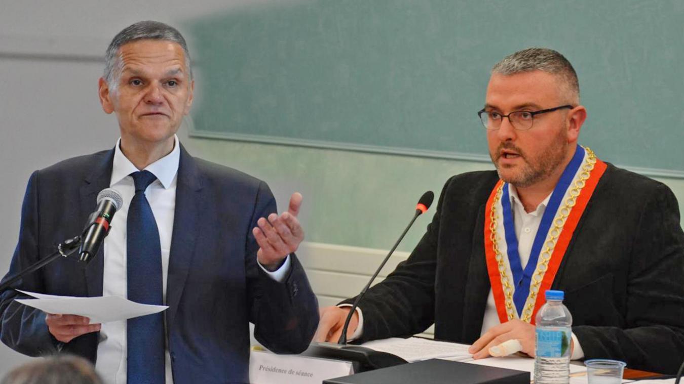 Les maires des deux plus grosses communes du canton font bande à part pour les départementales.