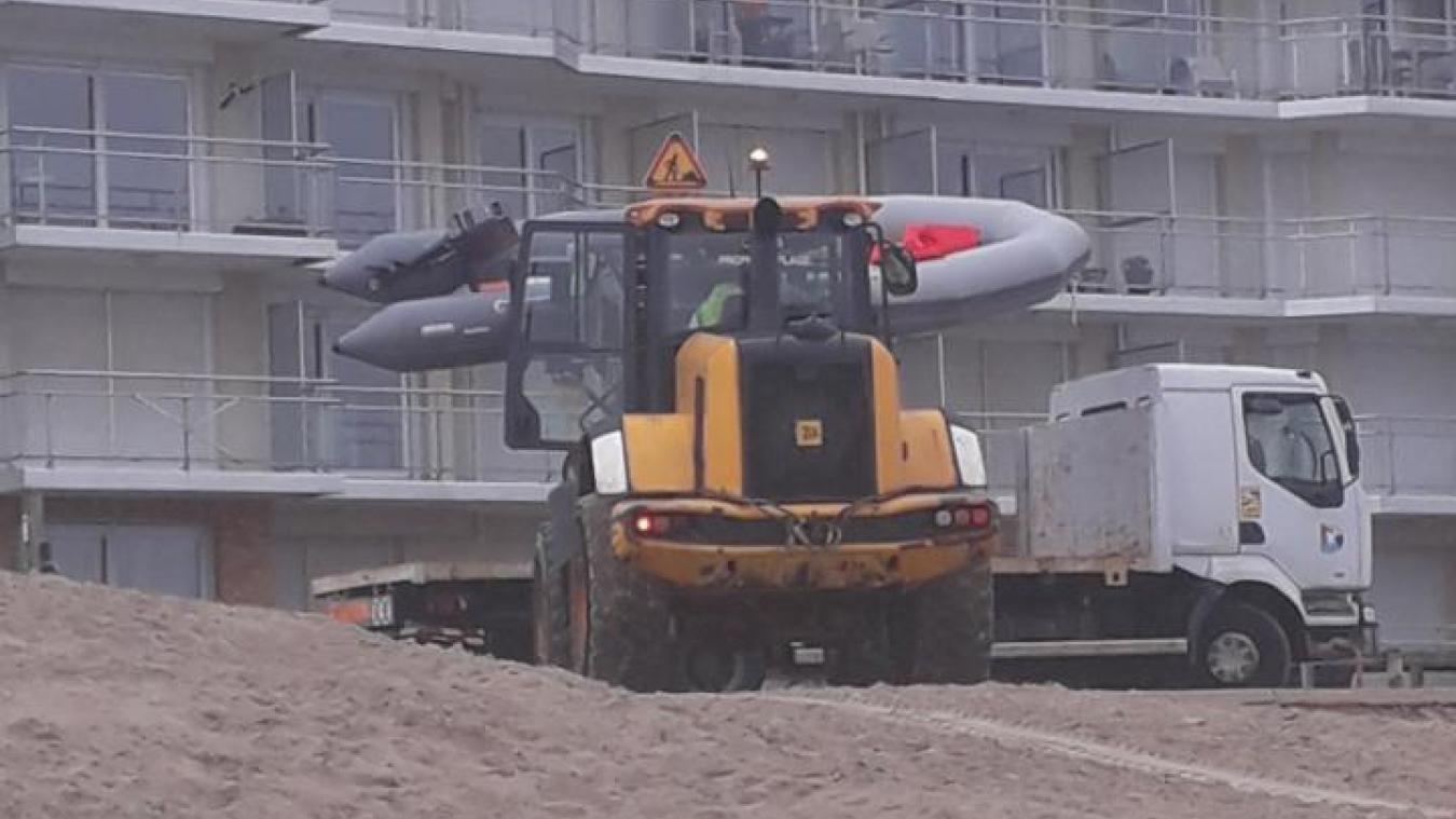 En mai, un small boat avait été intercepté sur la plage de Bray-Dunes par les forces de sécurité.