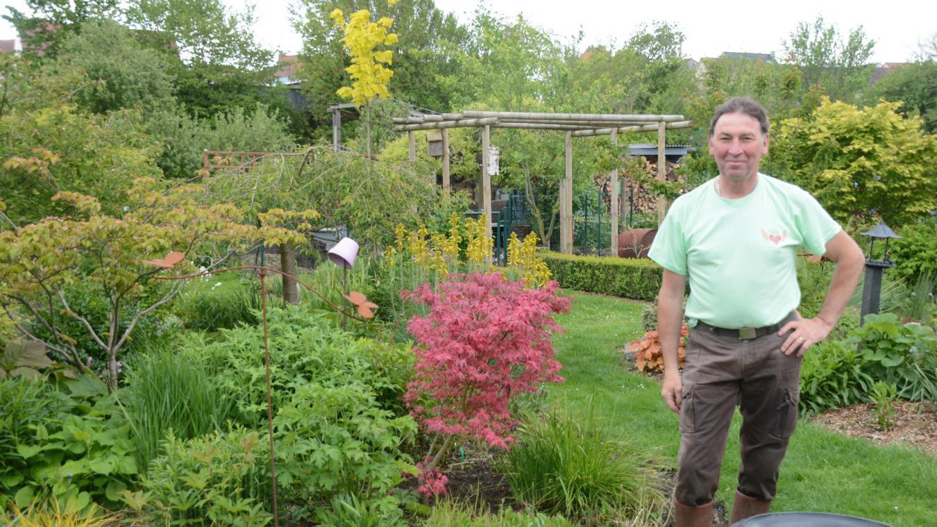 Pascal Plaisant ouvre les portes de son jardin pour une action solidaire.