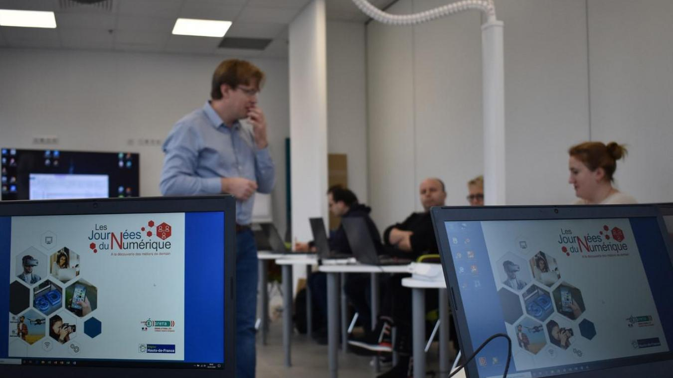 Des ateliers pour découvrir les métiers du numérique.
