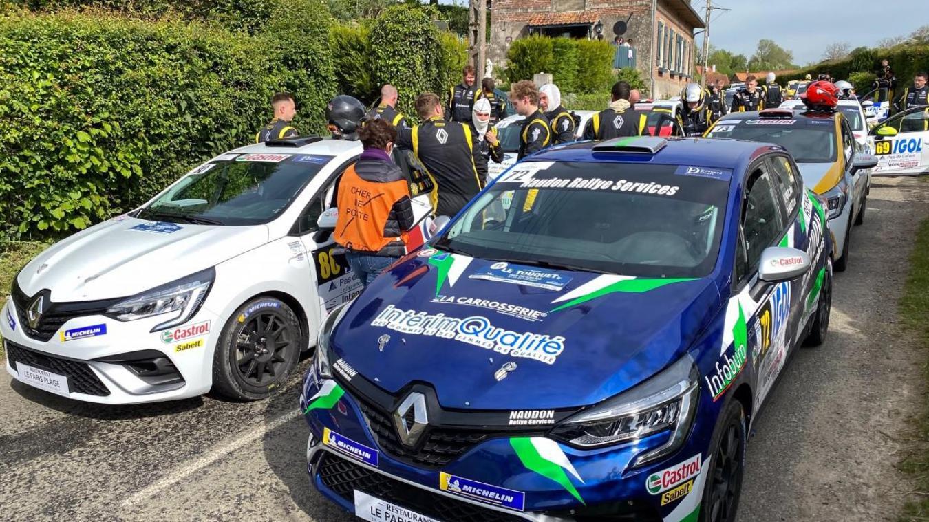 Les pilotes sont prêts pour une seconde journée sur les routes du Montreuillois avec au programme 5 épreuves spéciales.