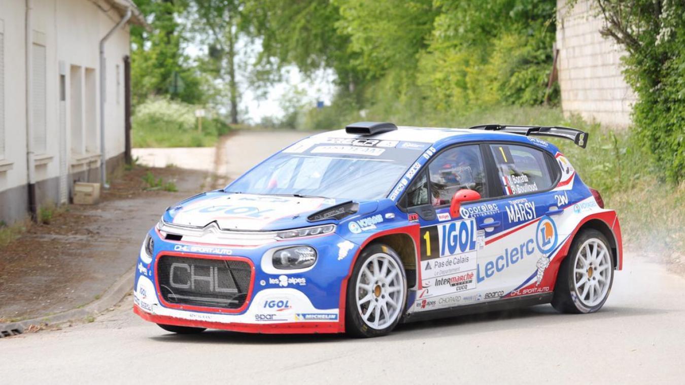 Yoann Bonato remporte le 61è rallye du Touquet