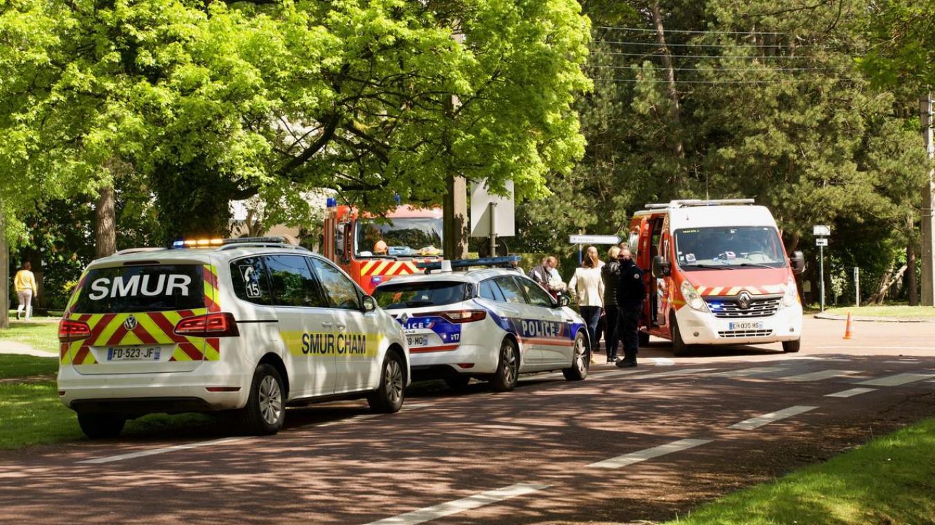 Le SMUR du CHAM, les pompiers d'Etaples et la police nationale du Touquet étaient mobilisés mercredi 19 mai.