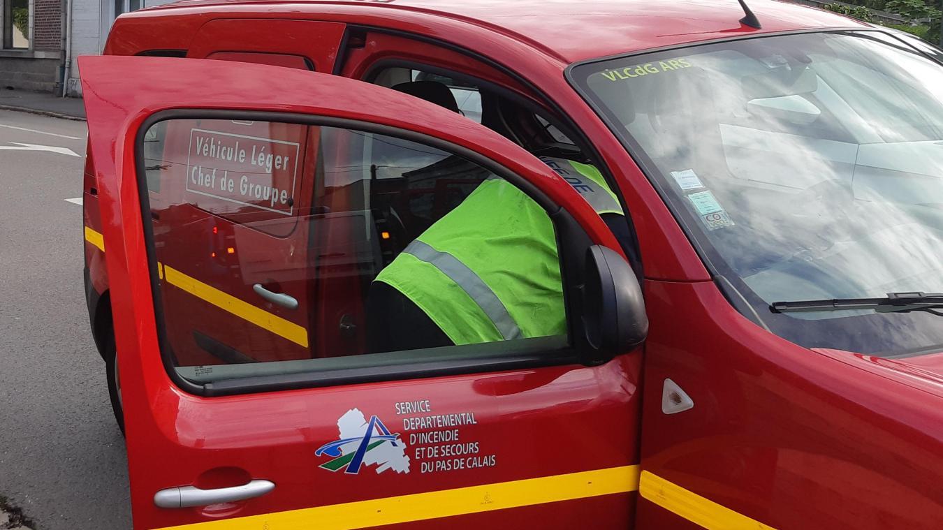 À Angres, une personne blessée par l'explosion d'un puisard