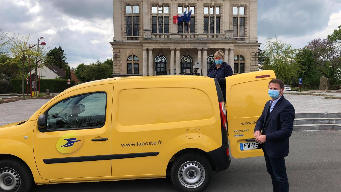 Le maire, Ludovic Idziak, ainsi qu'Isabelle Niewada, ont présenté le dispositif jeudi 27 mai.