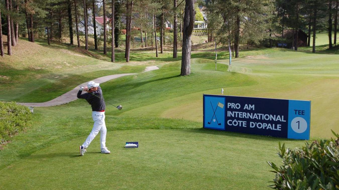 Avec le Pro Am, on assiste au retour des compétitions de golf sur le territoire de la Côte d'Opale.