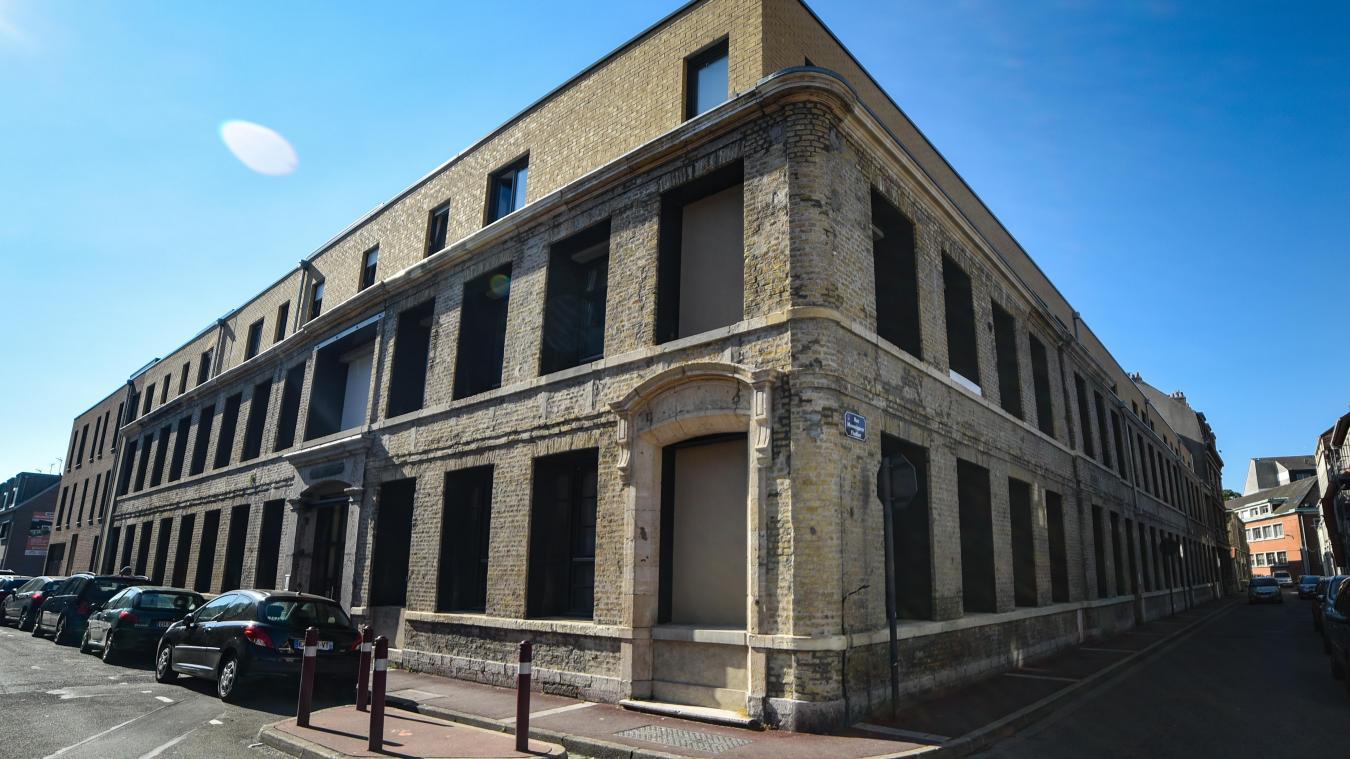 Des logements ont été construits sur le site de l'ancienne friche Darquer à Calais.