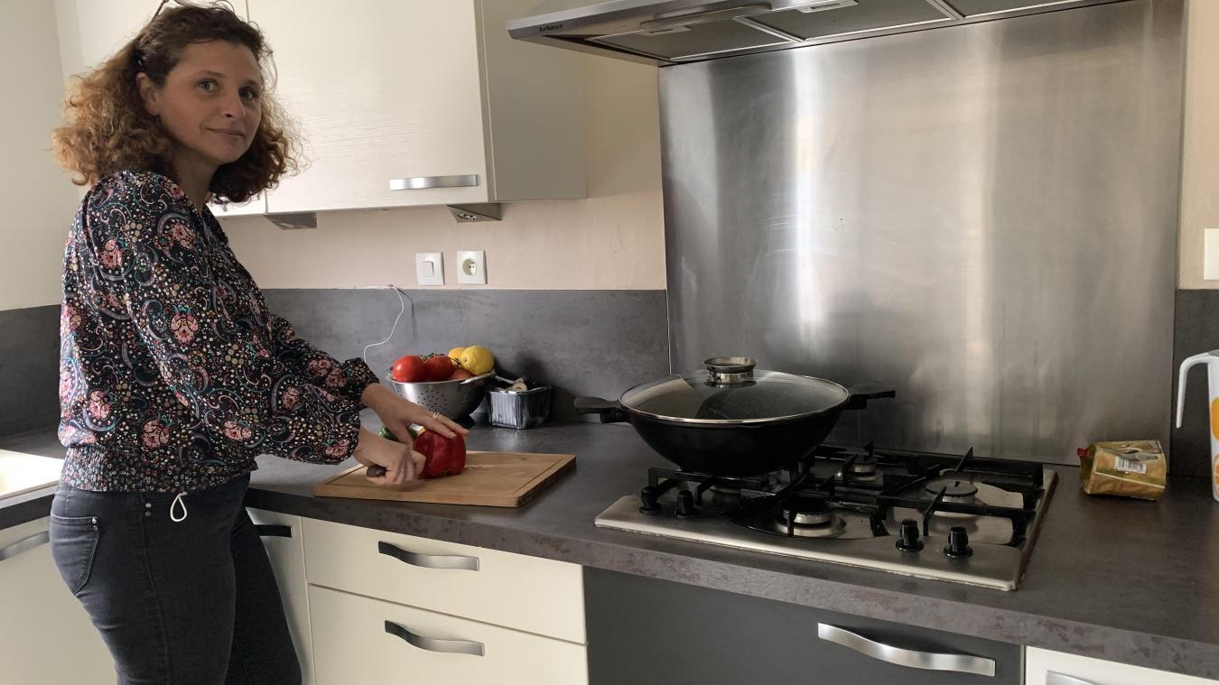 Marie-Ange est totalement épanouie dans son métier de Mère SOS au Village de Calais, «un vrai épanouissement professionnel».