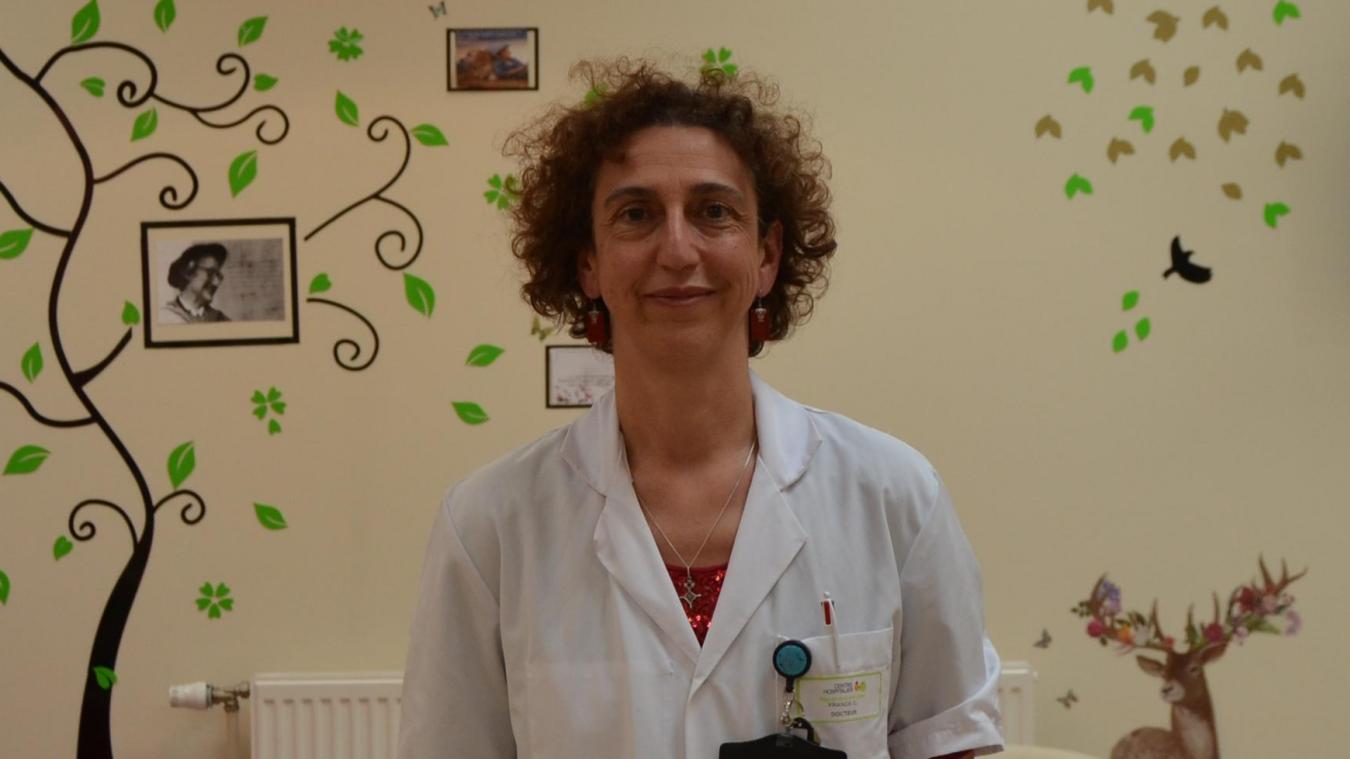 Le docteur Cécile Franck, présidente de la CME depuis janvier 2019.
