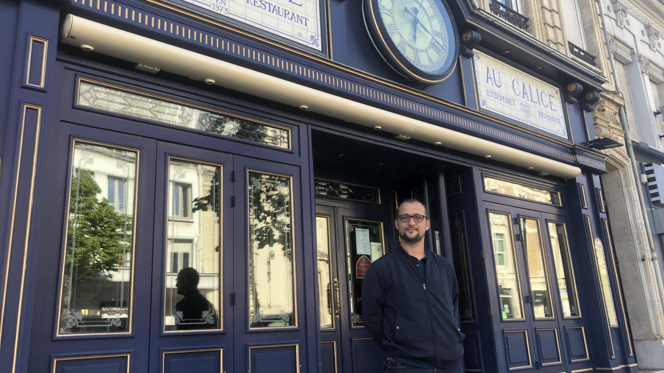 Vincent Mourant a racheté le Calice, véritable institution boulevard Jacquard à Calais.